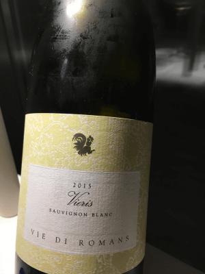 Vieris 2015 - Sauvignon Blanc dell'azienda Vie di Romans © Goodtastesaround